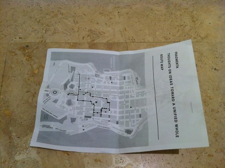 map on floor